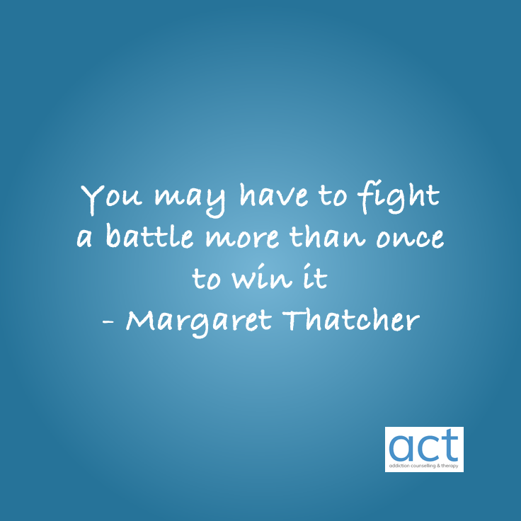 fight battle margaret thatcher quote